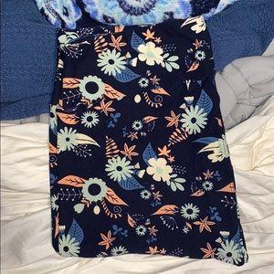 Lularoe TC flower leggings